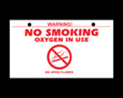 No Smoking Sign in English and Spanish