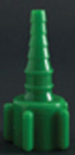 Green Oxygen Tubing Nipple Adapter