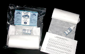 RespiClean respiratory cleaning towels wipes